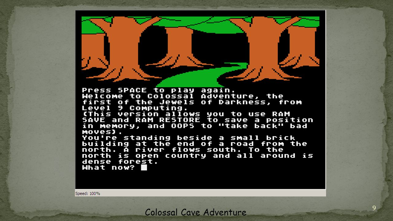 9 Colossal Cave Adventure