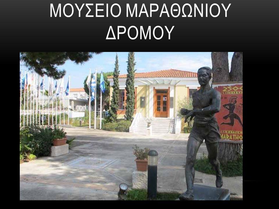 H μόνιμη έκθεση των Ολυμπιακών Μαραθωνίων παρουσιάζει για πρώτη φορά στο ελληνικό κοινό την ιστορία των Ολυμπιακών Μαραθωνίων, ξεκινώντας από το 1896 έως και το 2000.