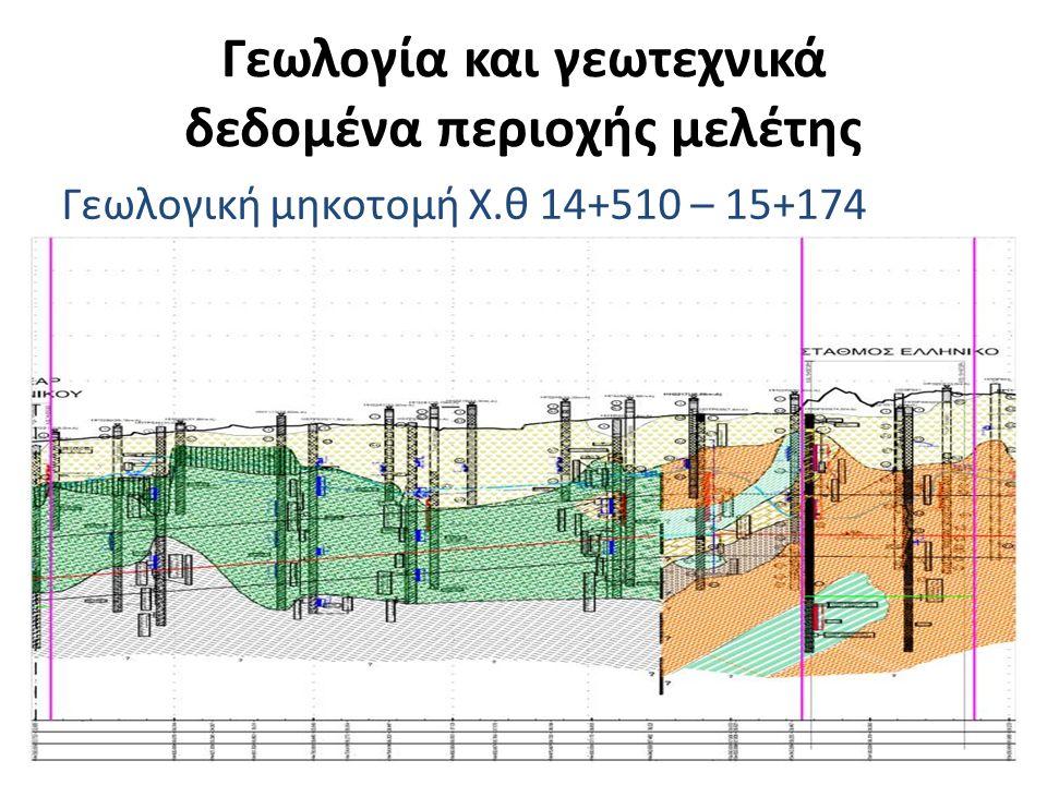 Γεωλογία και γεωτεχνικά δεδομένα περιοχής μελέτης ΠαράμετροιΣχηματισμός Τεχ.