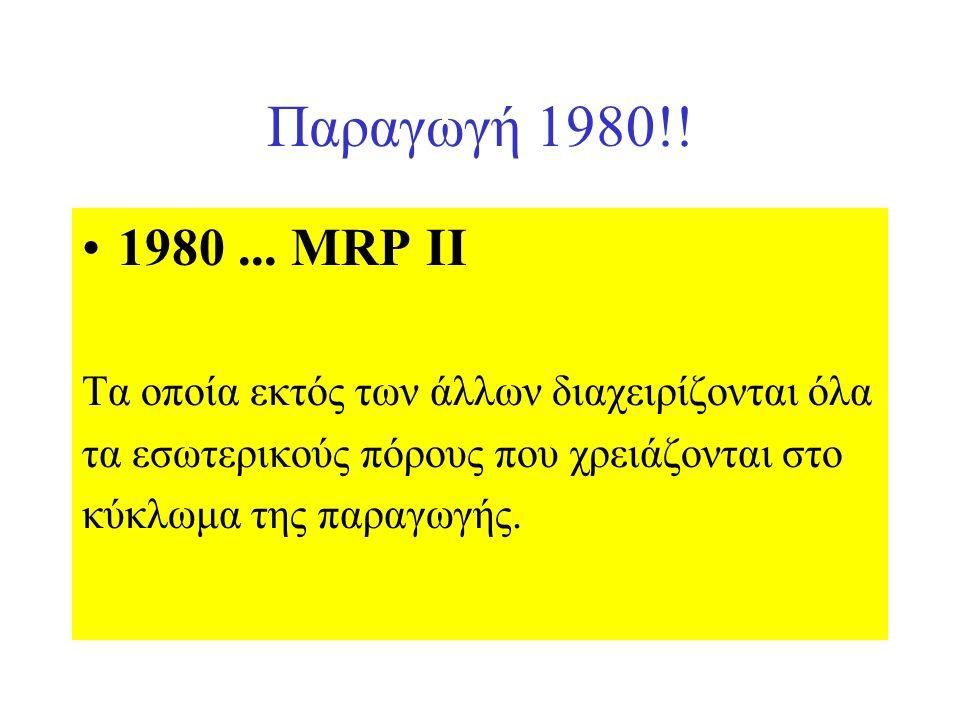 Παραγωγή 1980!. 1980...