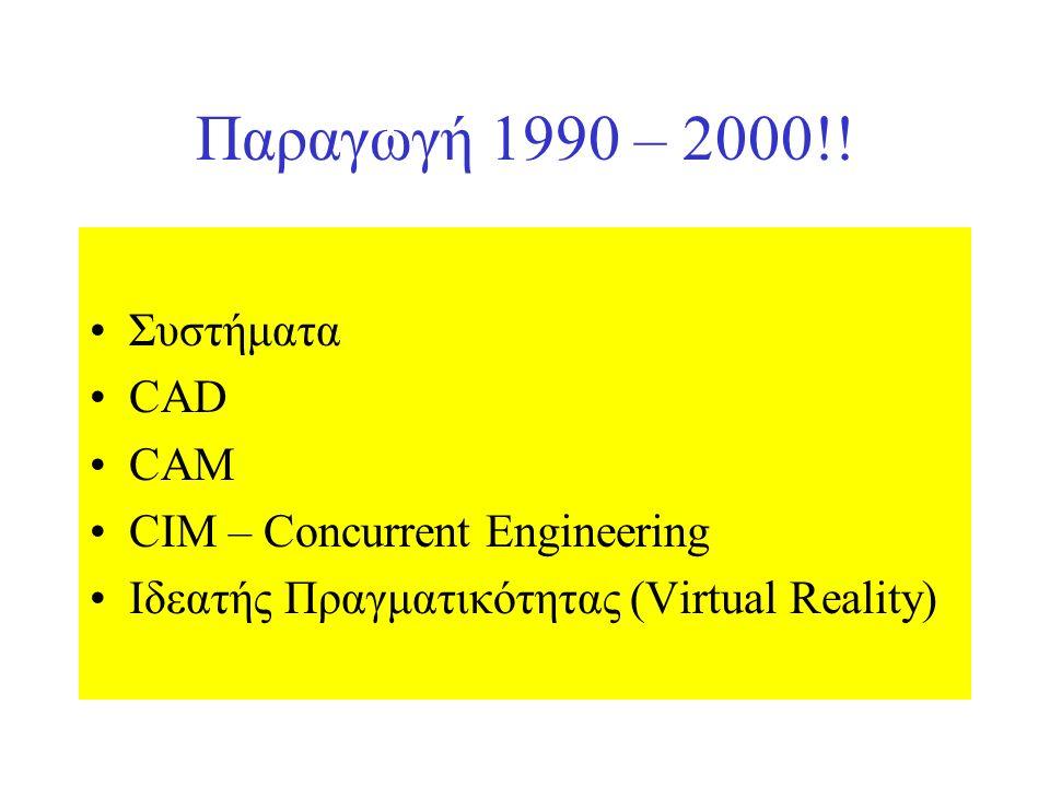 Παραγωγή 1990 – 2000!.