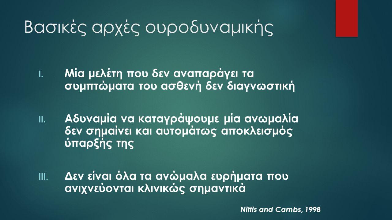 Βασικές αρχές ουροδυναμικής I.