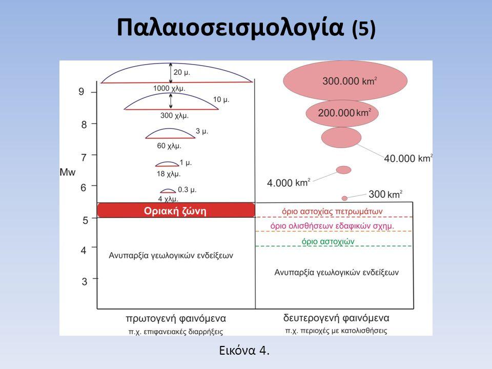 Παλαιοσεισμολογία (5) Εικόνα 4.