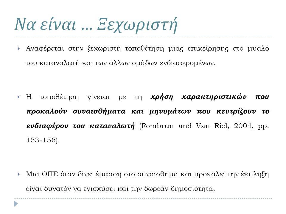 Ο Delattre (2002) παρουσίασε τους λόγους για τις αλλαγές στα ονόματα των επιχειρήσεων: (1) Αλλαγή σε επιχειρησιακή εικόνα.