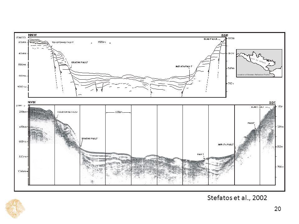 20 Stefatos et al., 2002