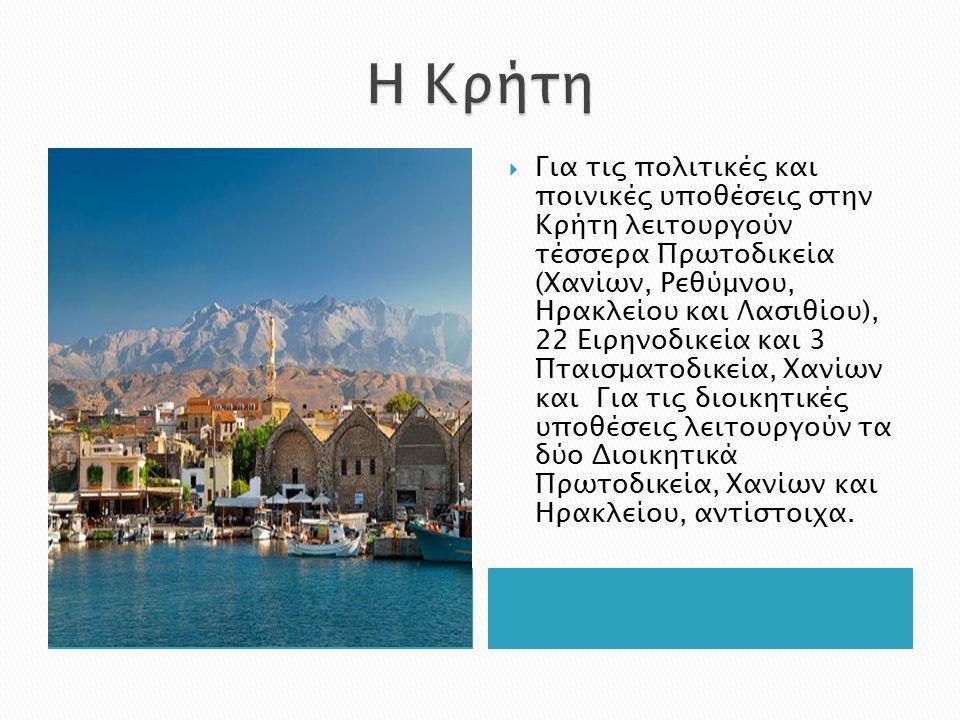  Η Κρήτη είναι ένας από τους δημοφιλέστερους ελληνικούς προορισμούς διακοπών.