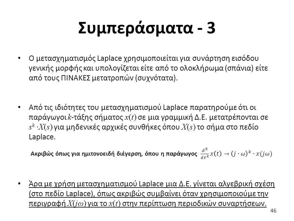 Συμπεράσματα - 3 46