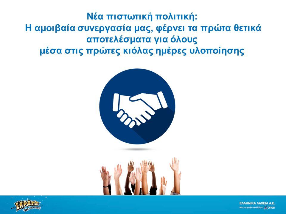 Nέα πιστωτική πολιτική: Η αμοιβαία συνεργασία μας, φέρνει τα πρώτα θετικά αποτελέσματα για όλους μέσα στις πρώτες κιόλας ημέρες υλοποίησης