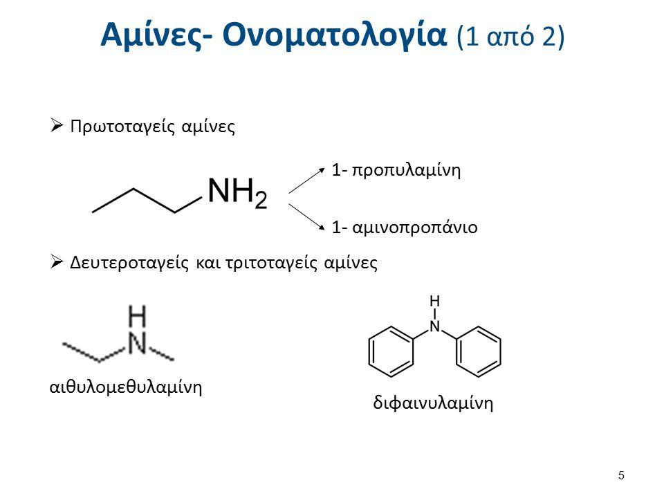 Χημικές ιδιότητες αλειφατικών αμινών (2 από 3) Σχηματισμός αμιδίων Ακυλαλογονίδια ή ανυδρίτες οξέων 16