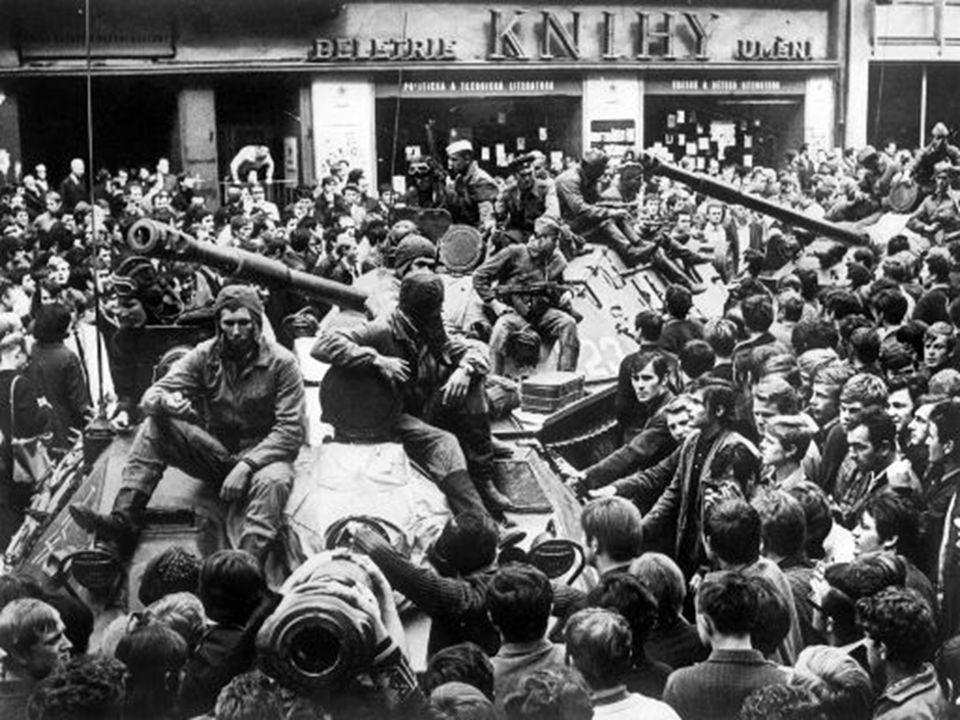 Αποτέλεσμα  Συμβιβασμός δύο αντιπάλων  Τι προέβλεπε;  Τη σταδιακή απομάκρυνση των δυνάμεων κατοχής, σε συνδυασμό με την «ομαλοποίηση» της κατάστασης και με την υπόσχεση της μη ανάμειξης στην εσωτερική πολιτική ζωή της Τσεχοσλοβακίας.