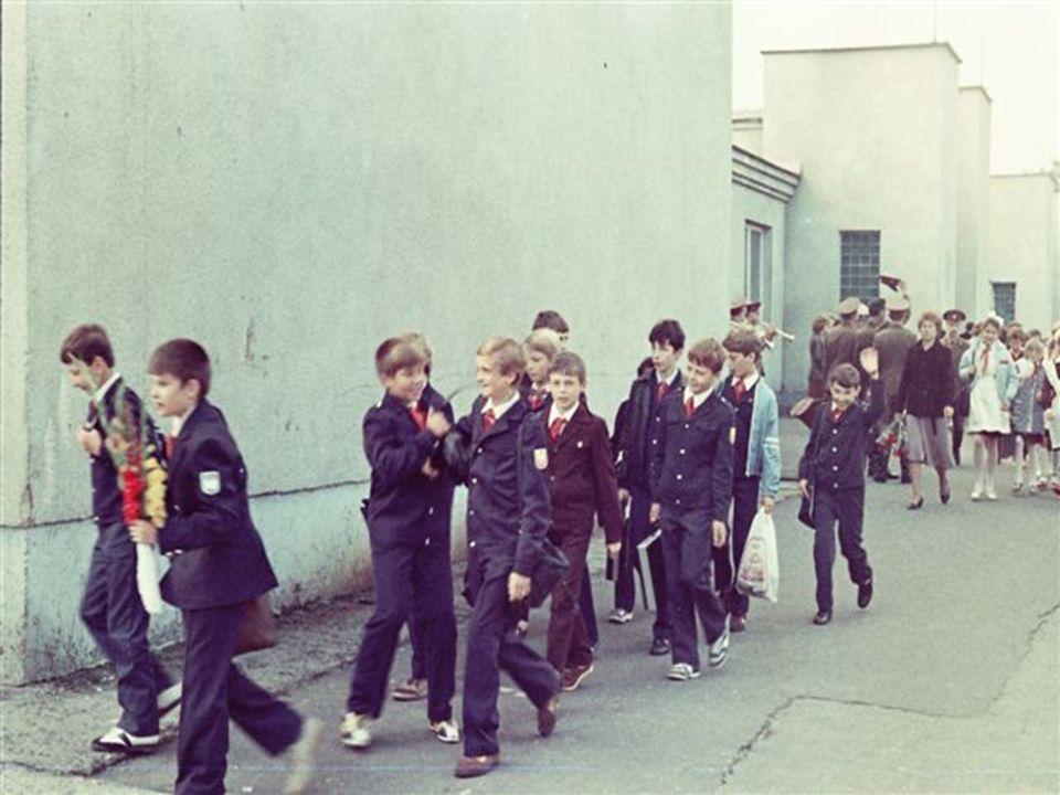 Εκπαίδευση στη Σ.Ε.  1960 > όλα τα παιδιά είχαν πρόσβαση στην εκπαίδευση.