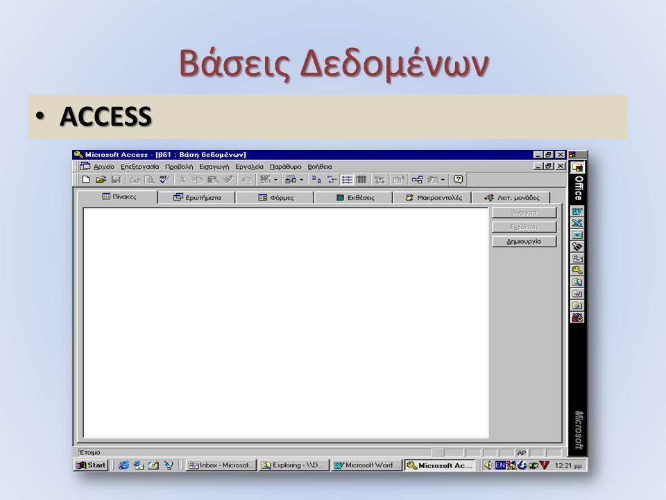 ACCESS ACCESS