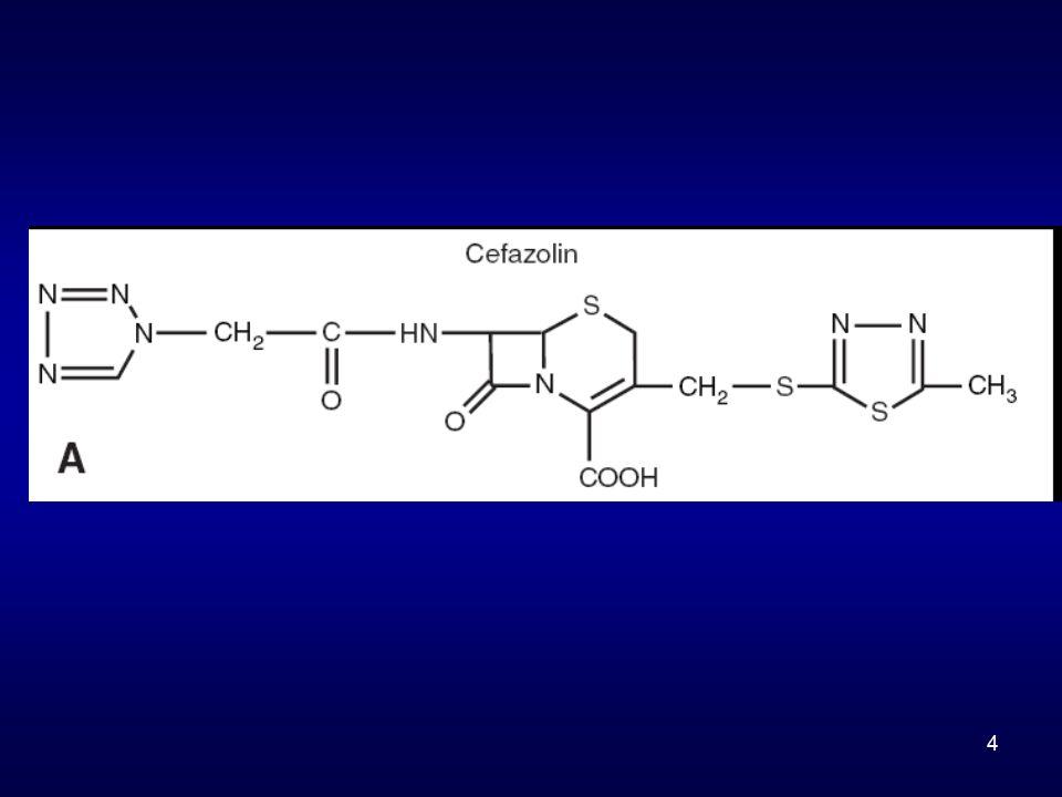5 R1= α μεθοξυ ομάδα Κεφαμυκίνες
