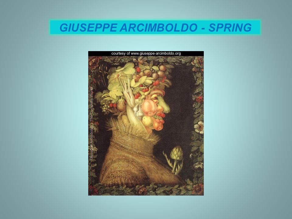 GIUSEPPE ARCIMBOLDO - SPRING