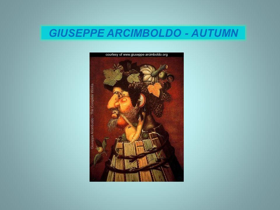 GIUSEPPE ARCIMBOLDO - AUTUMN