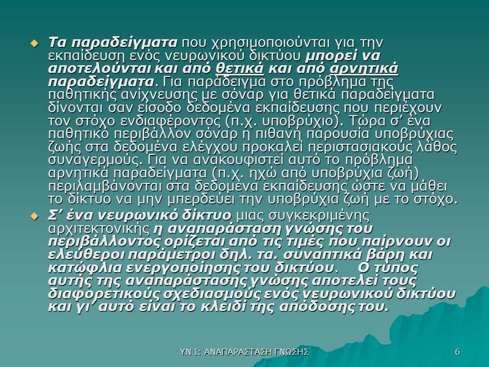 ΥΝ Ι: Τ.Ν.ΚΑΙ Ν.Δ. 17  1.