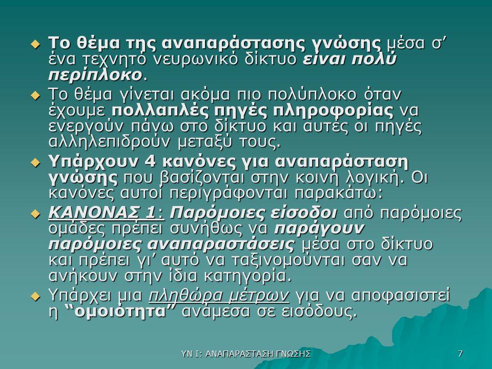 ΥΝ Ι: ΔΙΑΔΙΚΑΣΙΑ ΜΑΘΗΣΗΣ 38  Συνολικά η μέθοδος E.C.L.