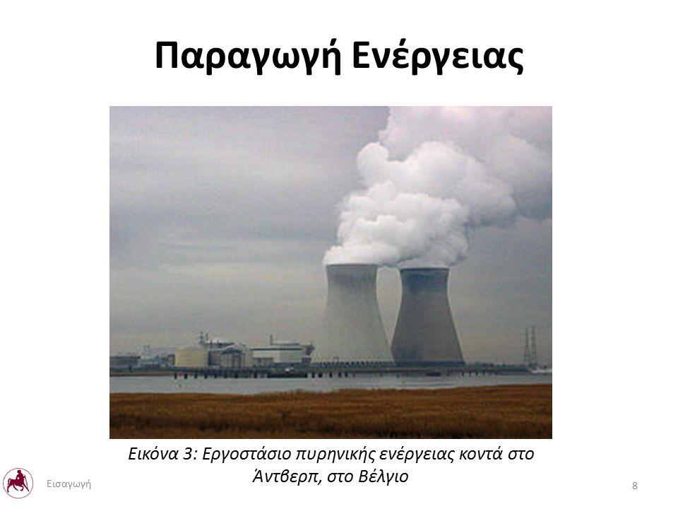 Παραγωγή Ενέργειας Εικόνα 3: Εργοστάσιο πυρηνικής ενέργειας κοντά στο Άντβερπ, στο Βέλγιο 8 Εισαγωγή