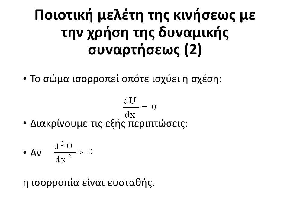 Διαγράμματα φάσεως (2) Η γραφική παράσταση της σχέσεως αυτής σε άξονες καλείται καμπύλη φάσεως.