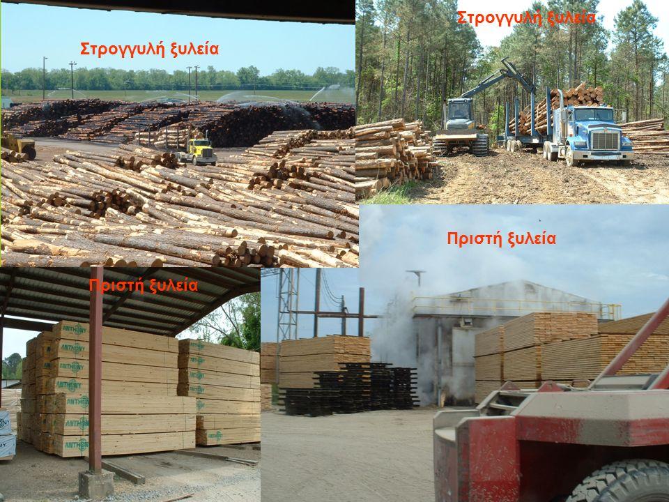 Στρογγυλή ξυλεία Πριστή ξυλεία Στρογγυλή ξυλεία Πριστή ξυλεία