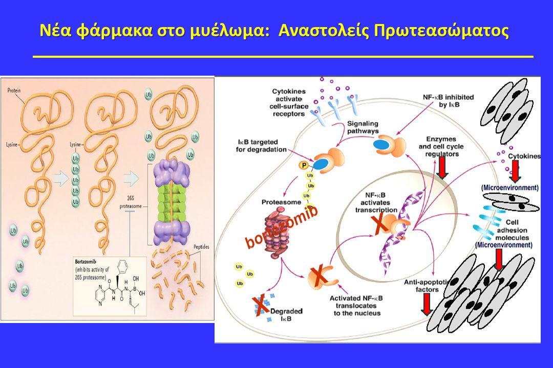 Νέα φάρμακα στο μυέλωμα: Αναστολείς Πρωτεασώματος