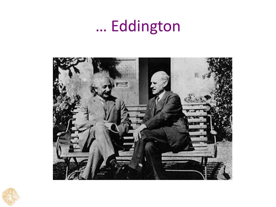 … Eddington