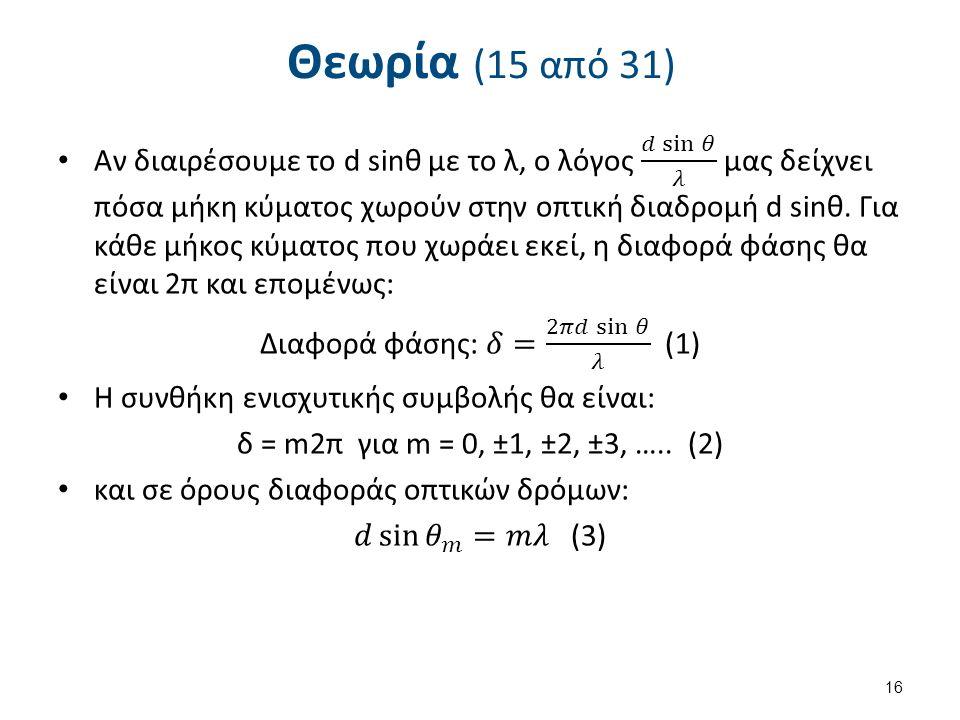 Θεωρία (15 από 31) 16