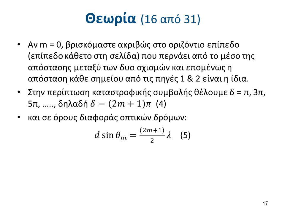Θεωρία (16 από 31) 17
