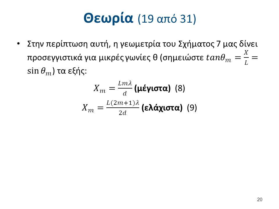 Θεωρία (19 από 31) 20