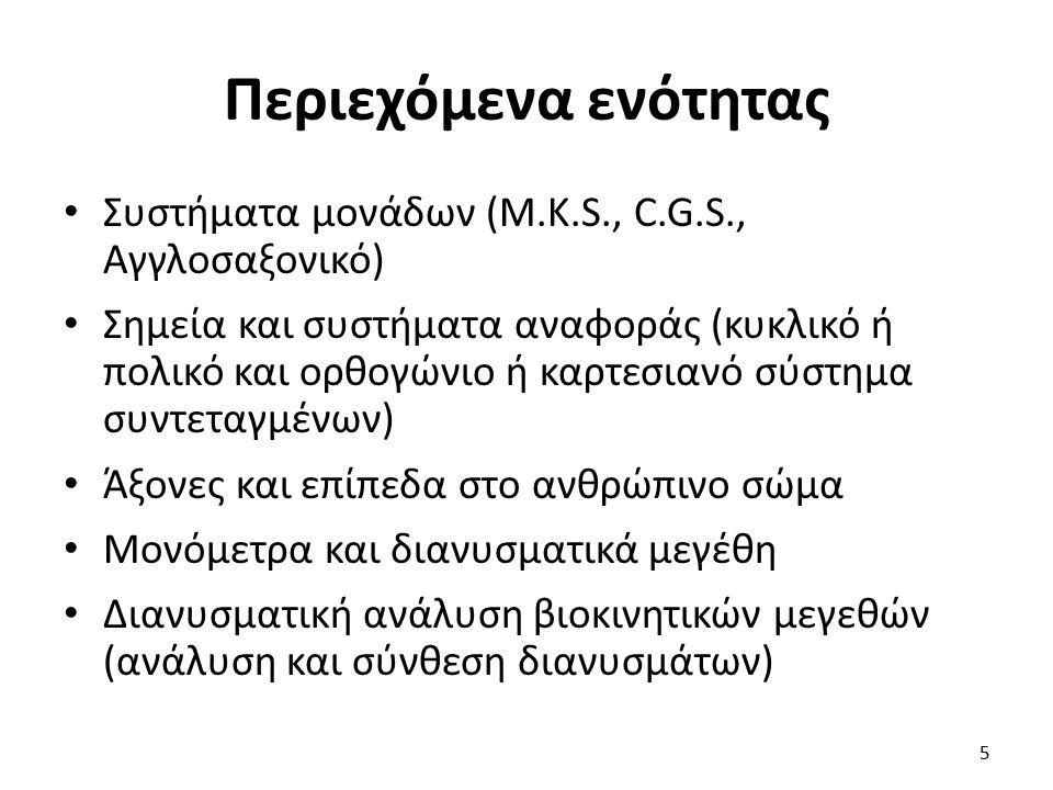 Βιβλιογραφία Κόλλιας Η.(1997). Βιοκινητική της αθλητικής κίνησης.