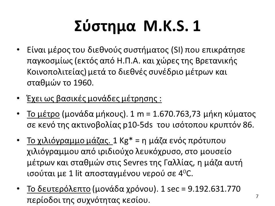 Σύστημα M.K.S.