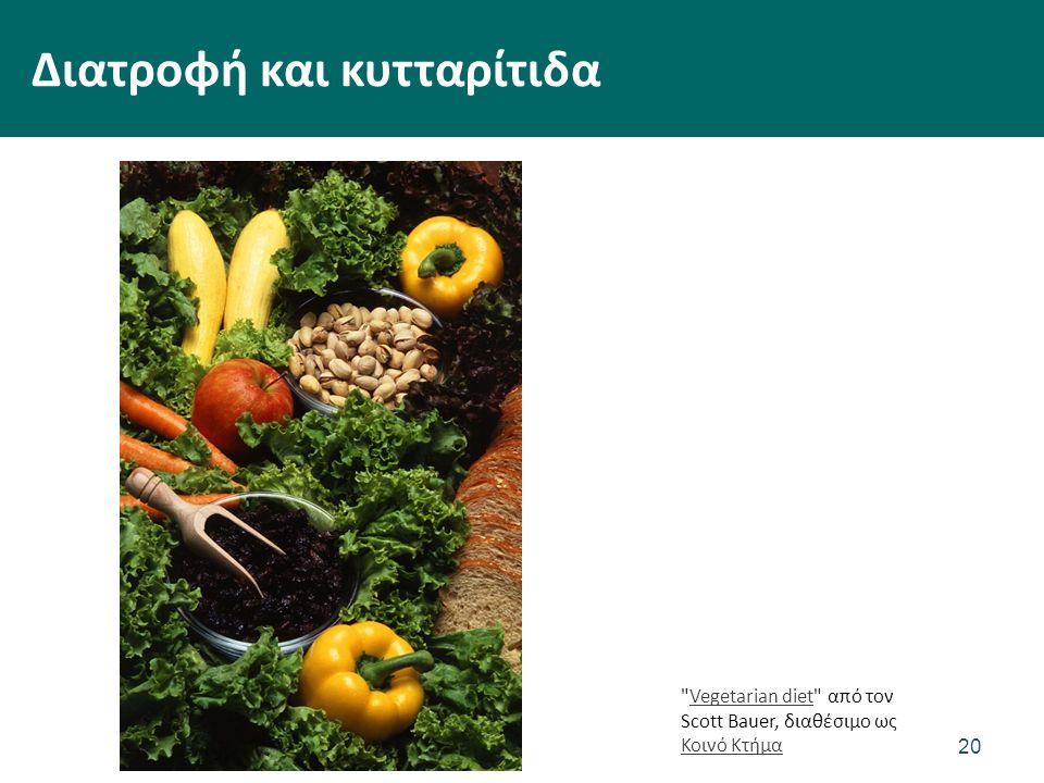 20 Διατροφή και κυτταρίτιδα Vegetarian diet από τον Scott Bauer, διαθέσιμο ως Κοινό ΚτήμαVegetarian diet Κοινό Κτήμα