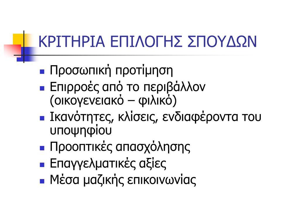 Βήματα «σωστής» συμπλήρωσης μηχανογραφικού 4.
