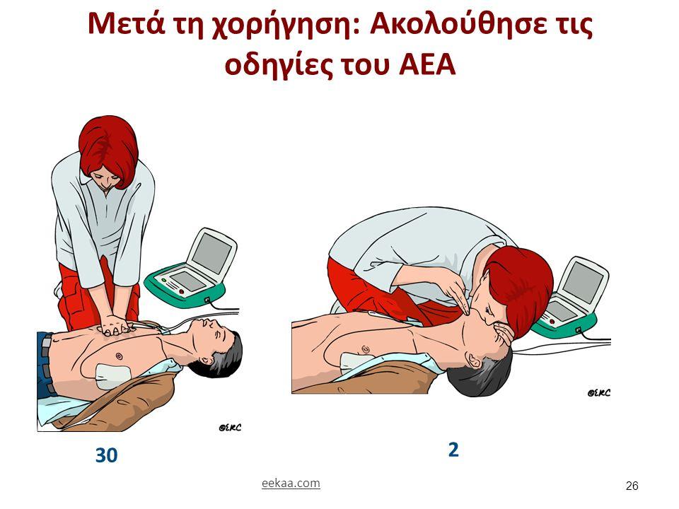 Μετά τη χορήγηση: Ακολούθησε τις οδηγίες του ΑΕΑ 26 30 2 eekaa.com