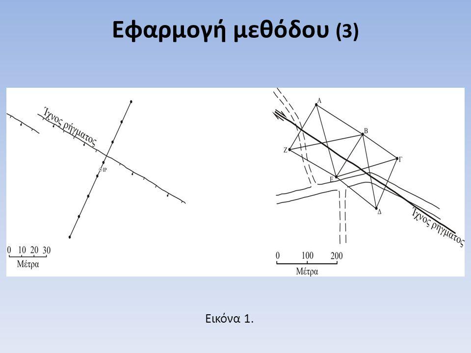 Εφαρμογή μεθόδου (3) Εικόνα 1.