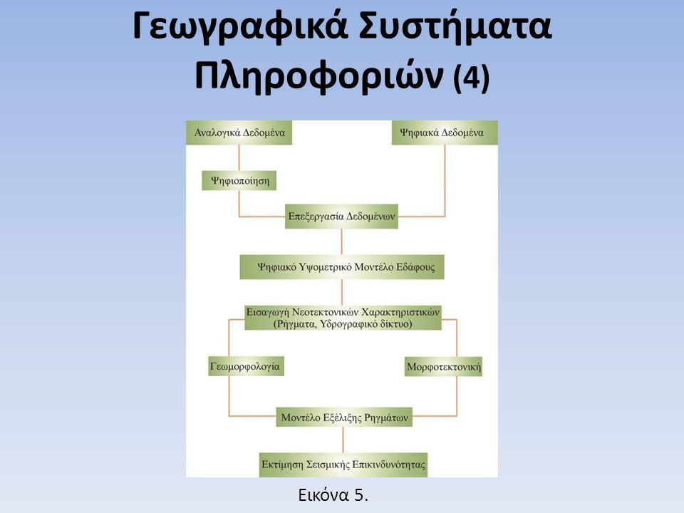 Γεωγραφικά Συστήματα Πληροφοριών (4) Εικόνα 5.