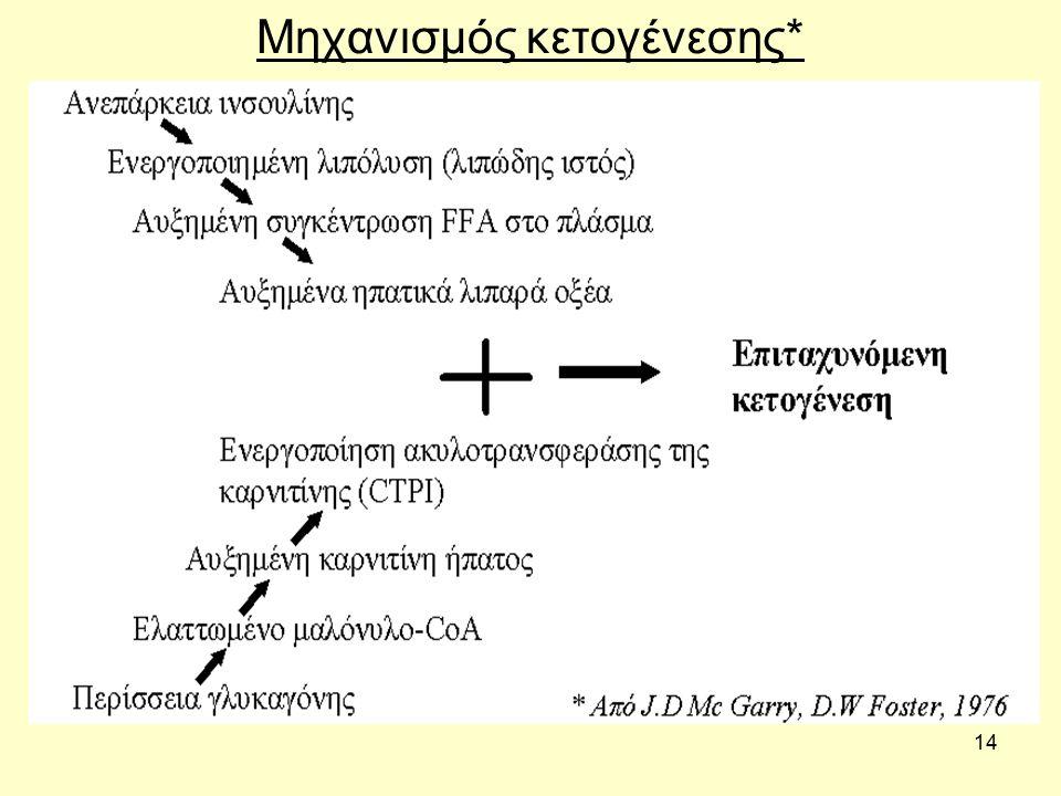 14 Μηχανισμός κετογένεσης*