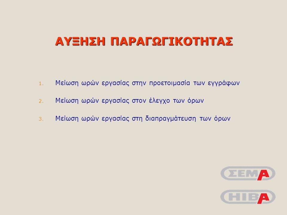 ΜΕΙΩΣΗ ΠΙΘΑΝOΤΗΤΑΣ ΛΑΘΟΥΣ/ΠΑΡΑΛΗΨΗΣ 1.