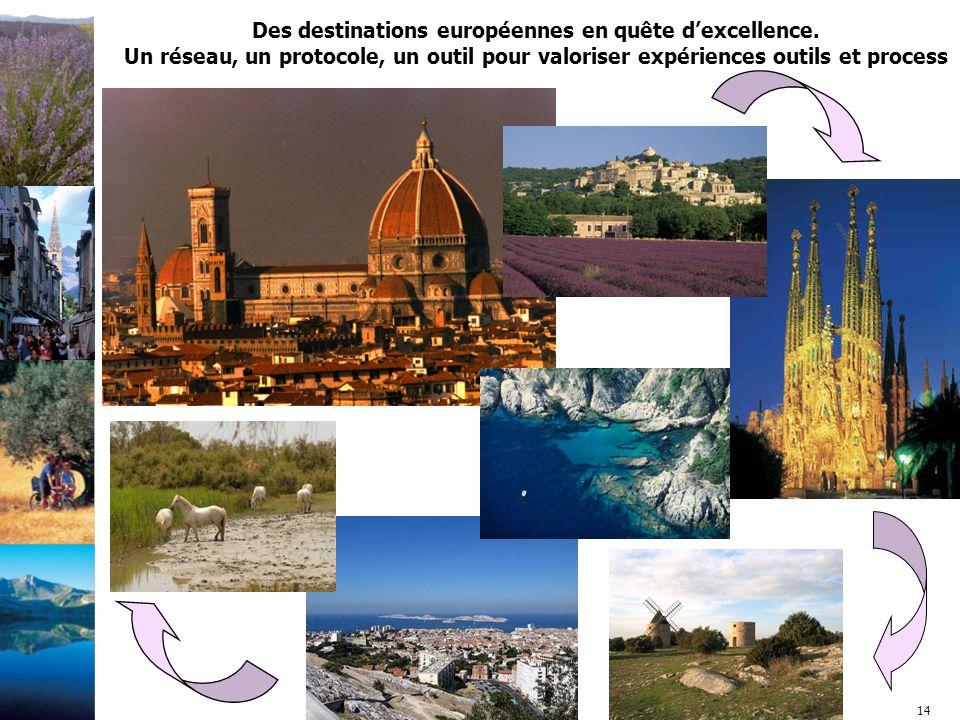 14 Des destinations européennes en quête d'excellence.