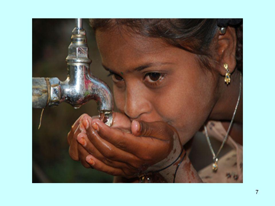 8 Γενική αρχή Το νερό που προορίζεται για ανθρώπινη κατανάλωση ή χρήση δεν πρέπει να περιέχει παθογόνους μικροοργανισμούς ή μικροοργανισ- μούς δείκτες μόλυνσης με περιττωματικές ουσίες ή συγκεντρώσεις χημικών ουσιών που μπορεί να προκαλέσουν βλάβη στην υγεία του ανθρώπου.