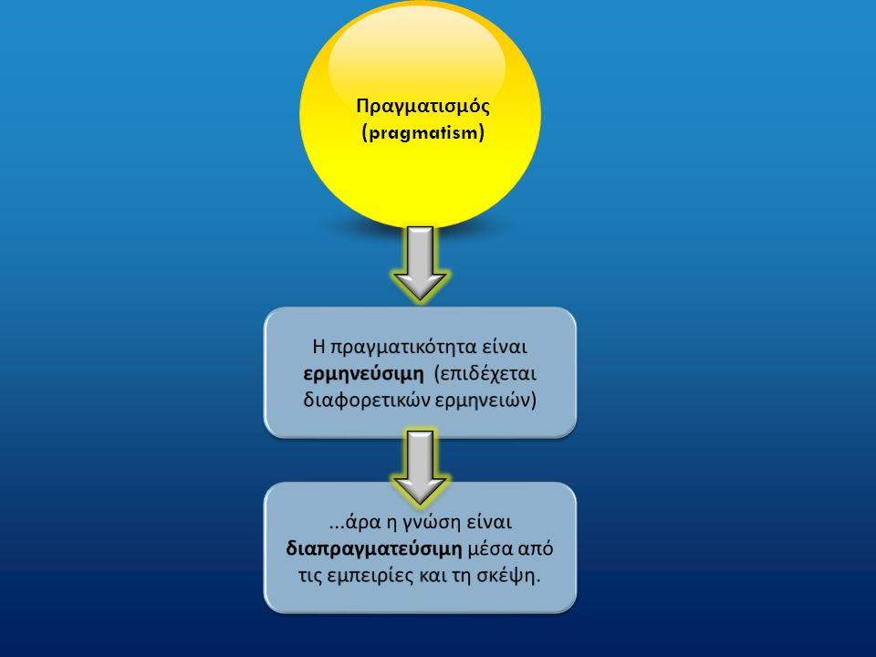 Πραγματισμός ( pragmatism )