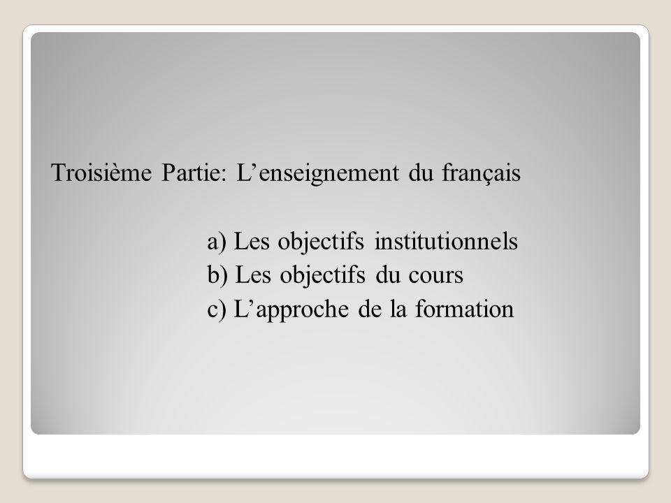 Deuxième Partie: Le fonctionnement de l'Ecole a) Les commandants b) L'instruction des evelpides c) La distraction des cadets