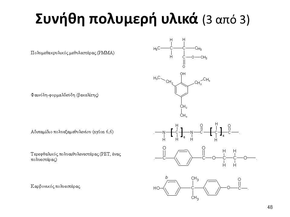 Συνήθη πολυμερή υλικά (3 από 3) 48
