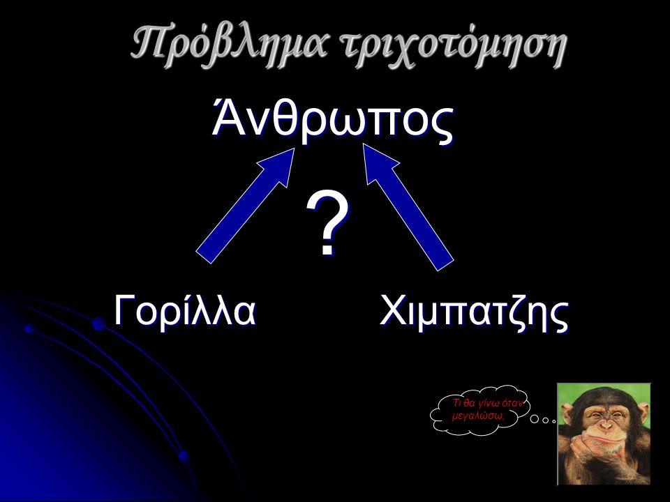 Πρόβλημα τριχοτόμηση Πρόβλημα τριχοτόμηση Άνθρωπος Άνθρωπος .