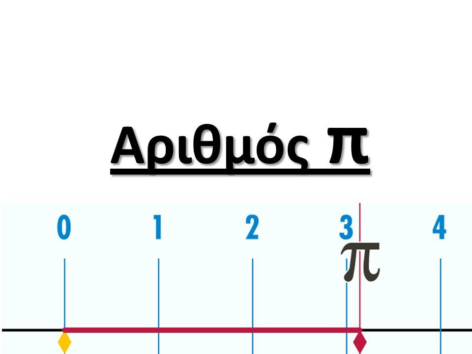 Ο π είναι ένας άρρητος αριθμός, πράγμα που σημαίνει ότι δεν μπορεί να εκφραστεί ακριβώς ως μια αναλογία δύο ακεραίων (όπως 22/7 ή άλλα κλάσματα που χρησιμοποιούνται συνήθως για την προσέγγιση του π) κατά συνέπεια, η δεκαδική απεικόνιση δεν τελειώνει ποτέ και ποτέ δεν εγκαθίσταται σε μια μόνιμη και επαναλαμβανόμενη παράσταση.