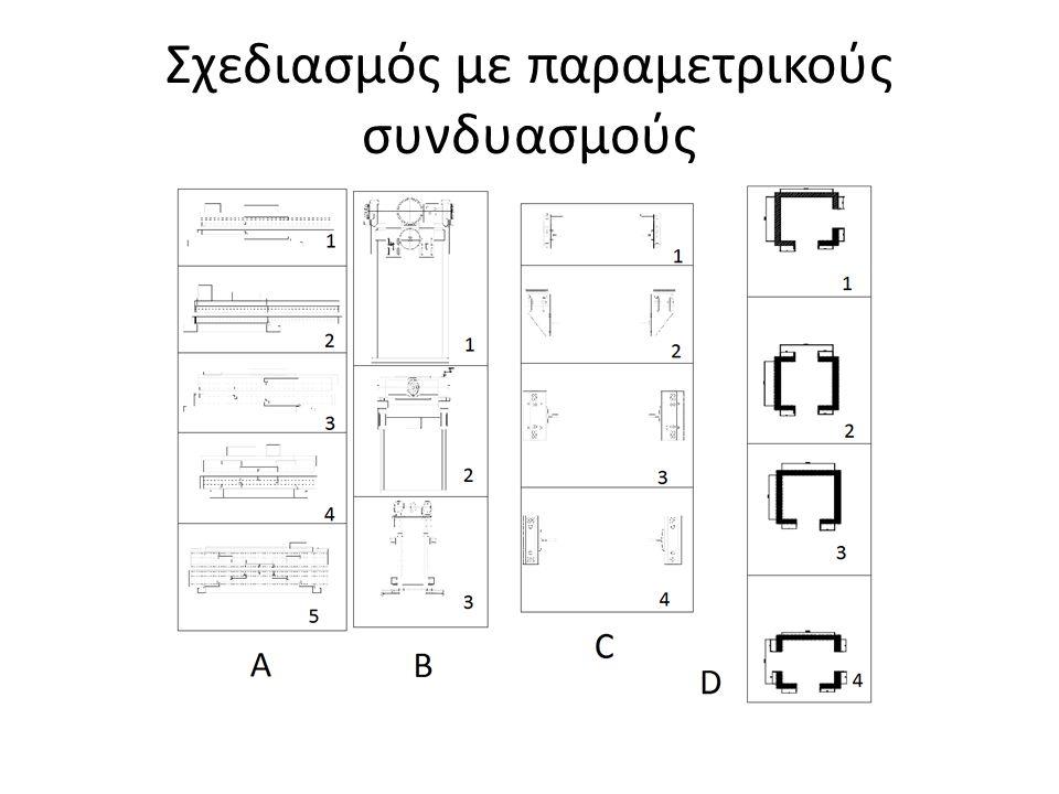 Σχεδιασμός με παραμετρικούς συνδυασμούς