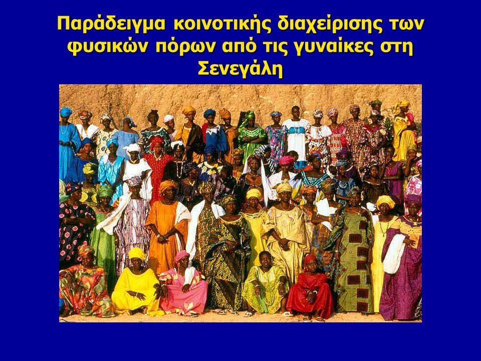 Παράδειγμα κοινοτικής διαχείρισης των φυσικών πόρων από τις γυναίκες στη Σενεγάλη