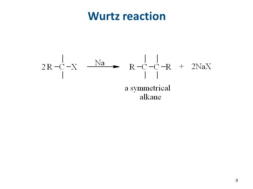 Wurtz reaction 9