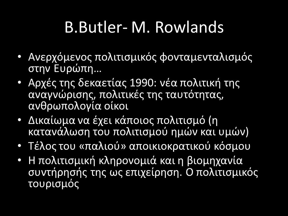 B.Butler- M.