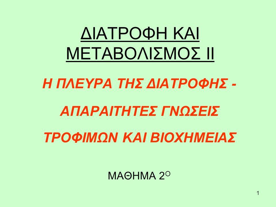 12 ΠΡΩΤΕΪΝΟΥΧΑ ΤΡΟΦΙΜΑ Χοιρινό.Χοιρινή μπριζόλα, ≈ 22 γρ.πρ..Ζαμπόν, 100 γρ.